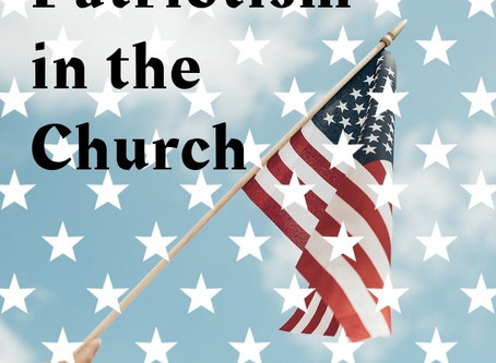 Patriotism in the Church