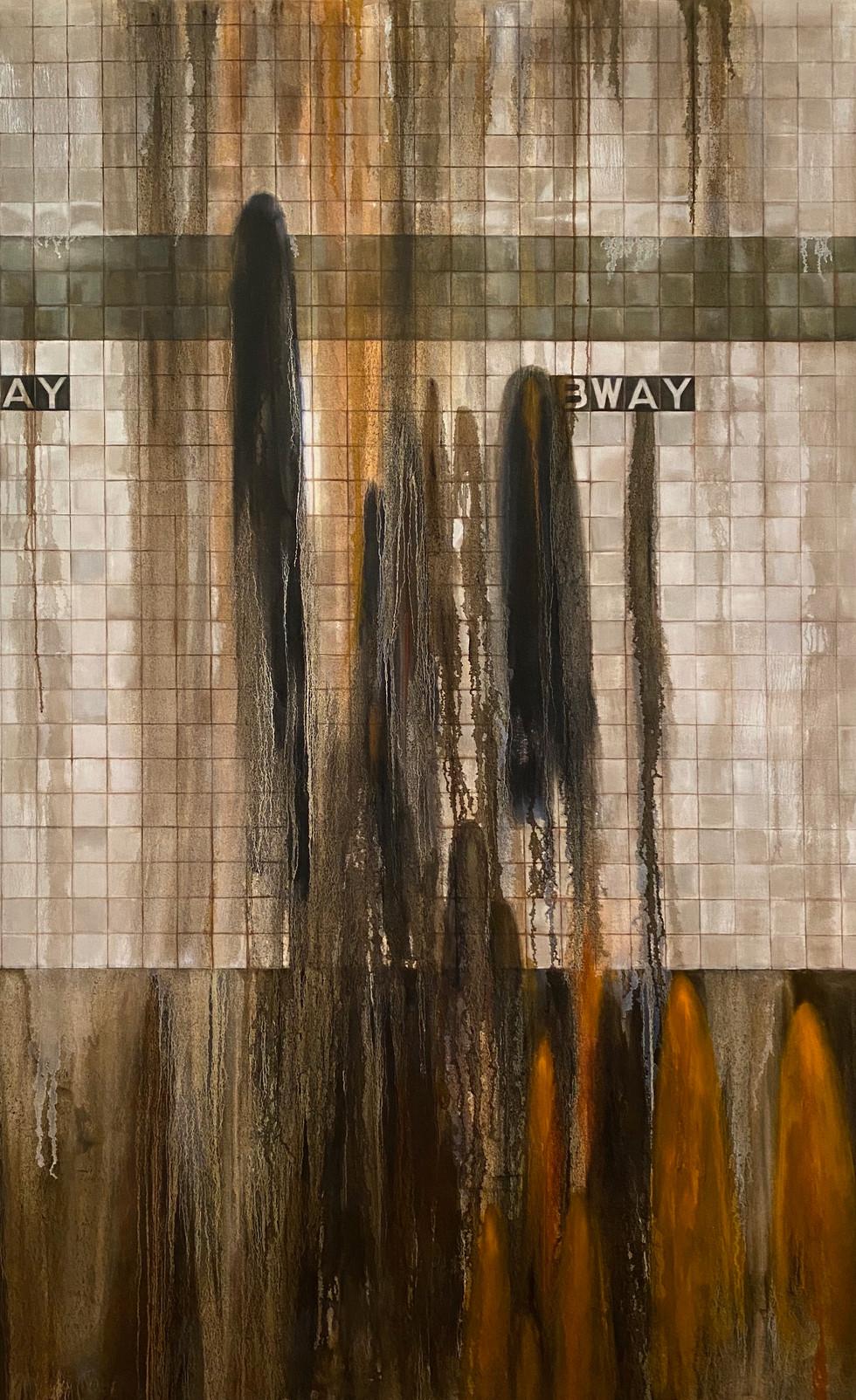 The Wall #3, 48x78inch.jpeg