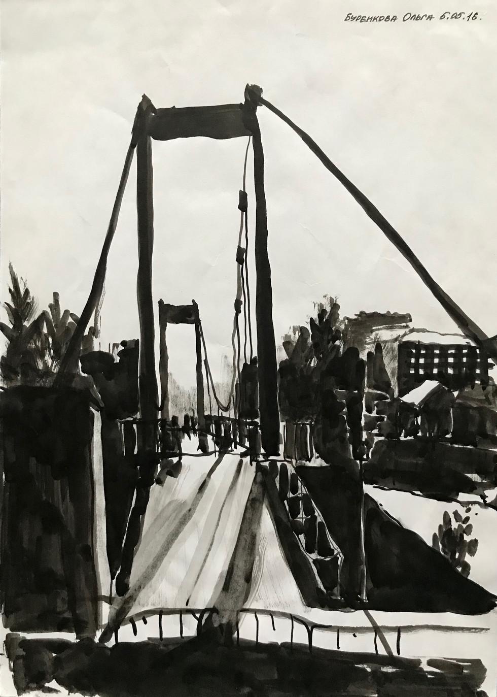 Bridge, Penza, View 2, 8.5x11_, 2016.jpe