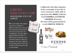 CROSSINDUSTRY FAIR HOSTED BY CITY OF SAINTS