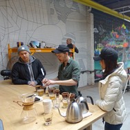 For our CSR project, we went to City of Saints at Bushwick to attend their weekend brewing class.