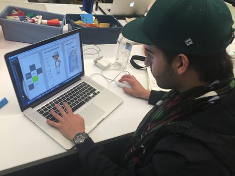 Create the digital prototype by Adobe XD