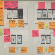 Wireframing and user journey testing of our business idea - Tackler.
