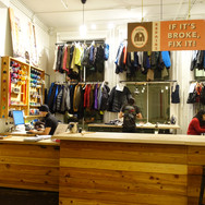Visit Patagonia's repair center to see how the company practices their sustainability policies.