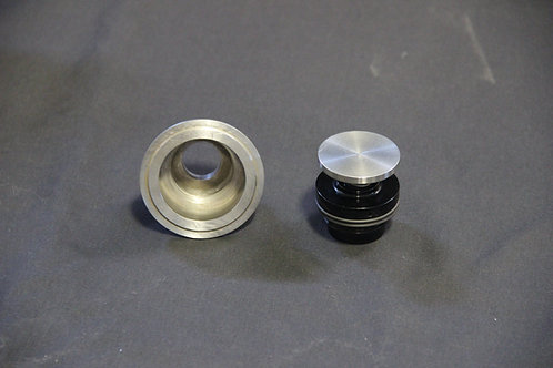 Weld-in Flush mount  gas cap