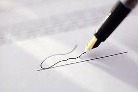 Подпись адвоката