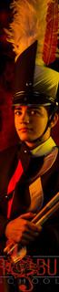 Dominic Legeza - Drum Line Captain
