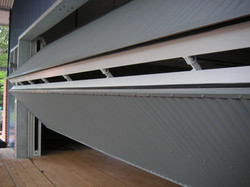 Fold-up Counterweight Door 1