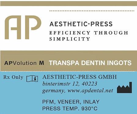Transpa Dentin Ingots - APV M