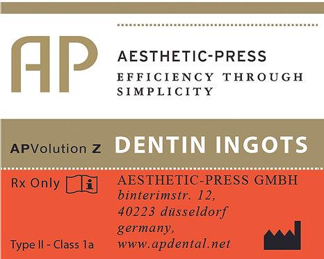 Dentin Ingots - APV Z