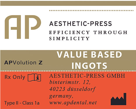 Value Based Ingots - APV Z