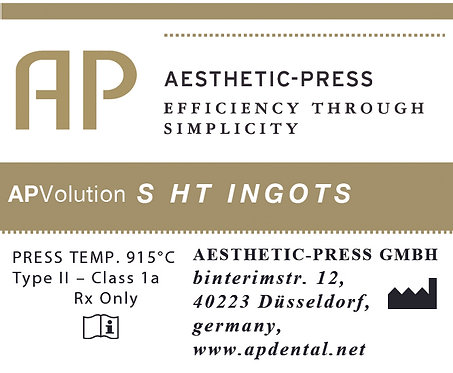 High translucent Ingots - APV S
