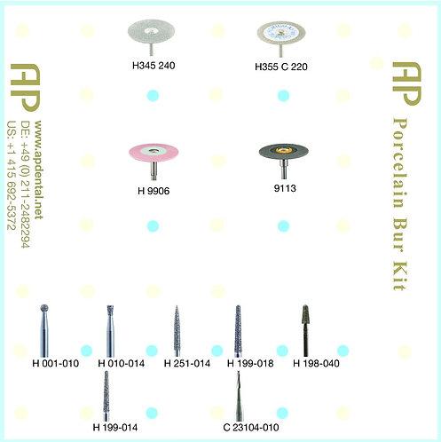 AP Porcelain Bur Kit