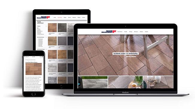 Formaris ontwerpt websites, ook die van Façade Maastricht.