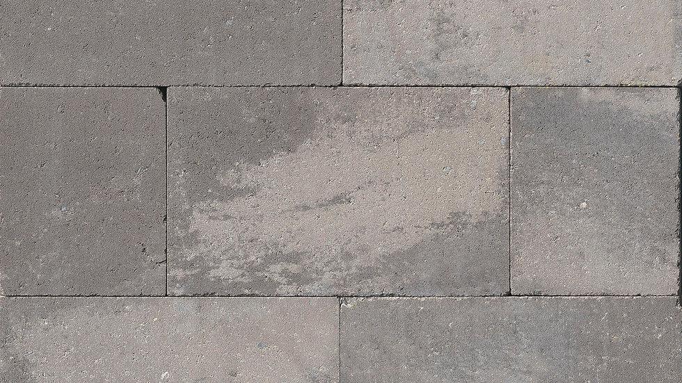 Tuinmuren Grijs/zwart genuanceerd