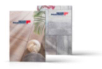 Ontwerp productbrochures door Formaris