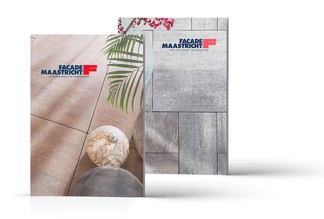 Formaris ontwerpt catalogussen, ook die van Façade Maastricht.