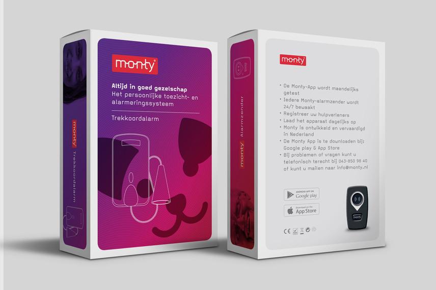 Formaris Monty verpakking ontwerp