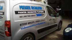 Preimer Decorators Van