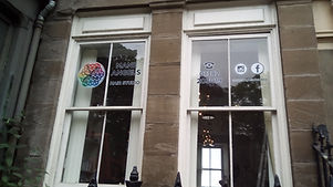 vinly window graphics