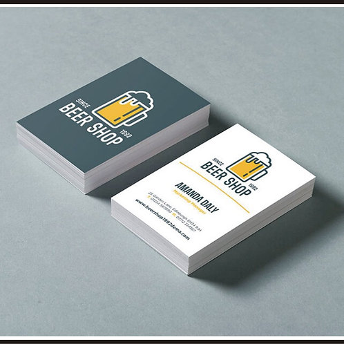 500 Double Sided BUSINESS CARDS