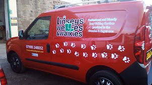 linsey wellies vehicle graphics