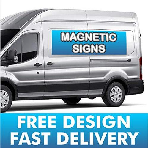 Magnetic Van Signs