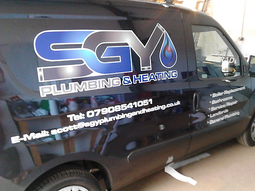MWB Van Graphics