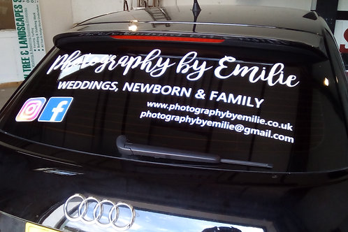 Rear Car Window Graphics