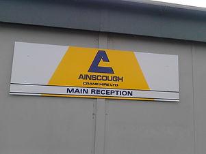 ainscough flat cut sign