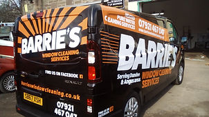 Partial Wrapped Van Graphics