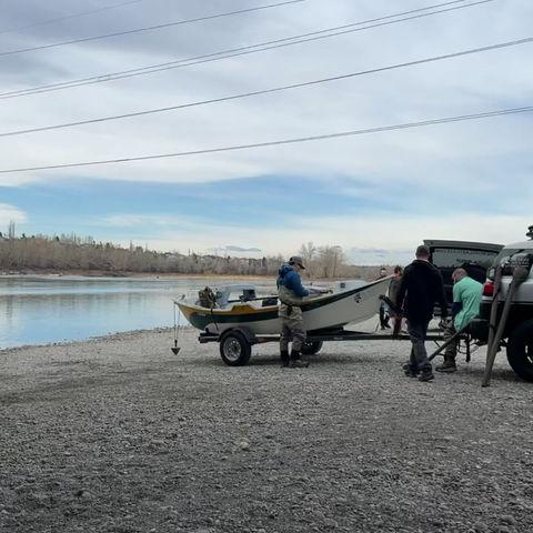 Friday, April 30, 2021 - Bow River