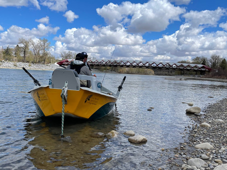 Wednesday, May 5, 2021 - Bow River