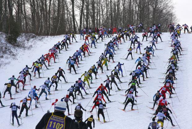 Photo from Star Tribune Birkebeiner Race