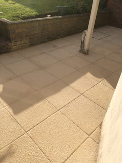 patio finshed