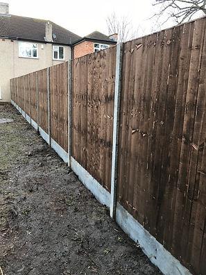 Close board panel Fencing in Dartford