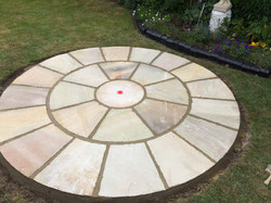 round patio in Bexely
