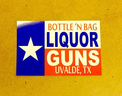Liquor 'n Guns Stickers
