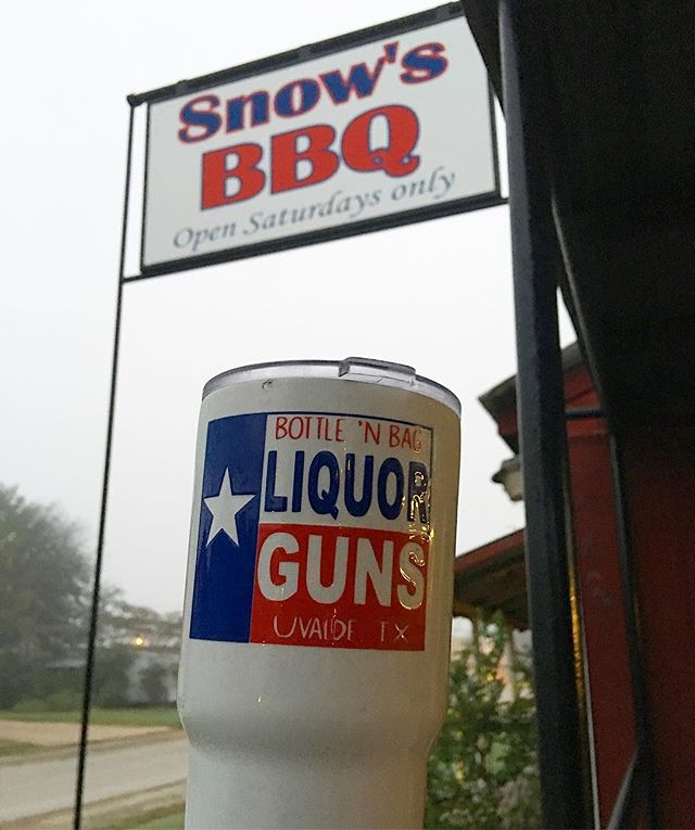 Two #texas greats #snowsbbq #lexingtontx