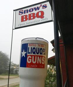 Two #texas greats #snowsbbq #lexingtontx