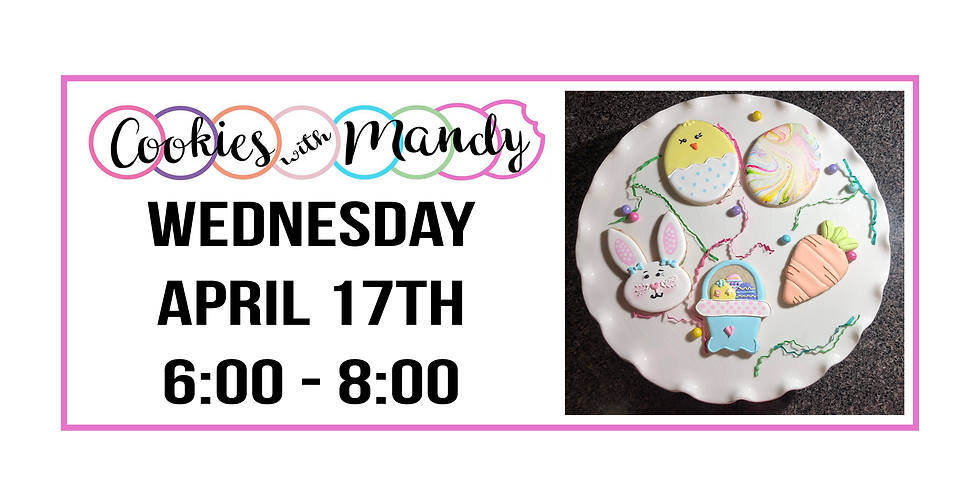Cookies with Mandy ::: Easter Set