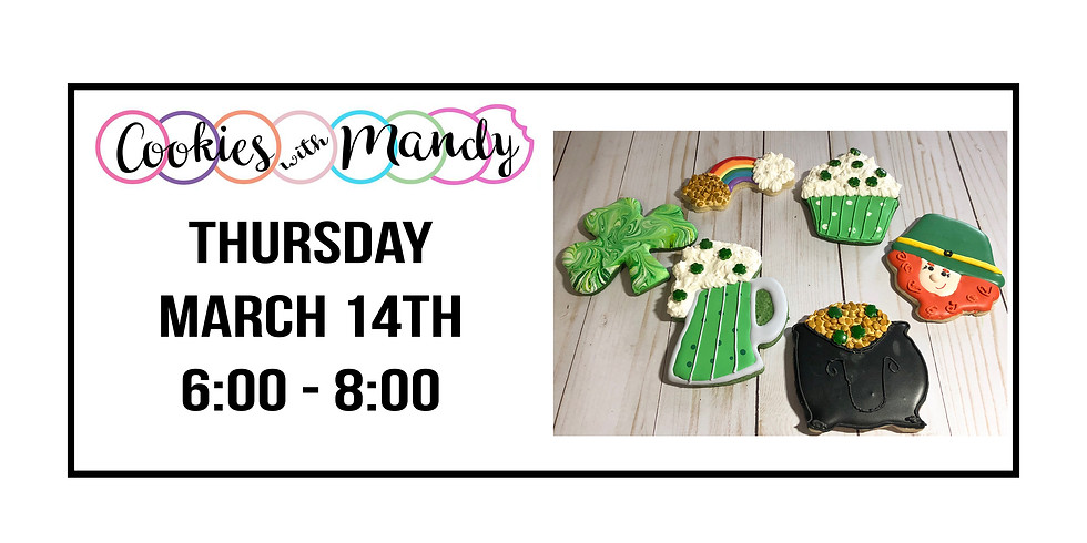 Cookies with Mandy ::: St. Patrick's Day Set