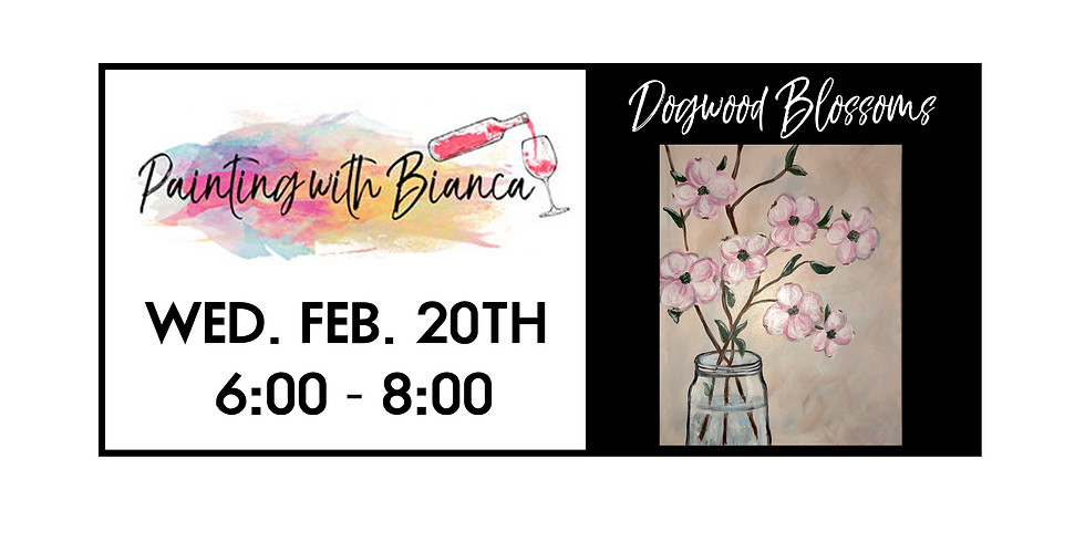 Painting with Bianca ::: Dogwood Blooms