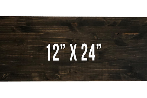 "12"" x 24"" Board"