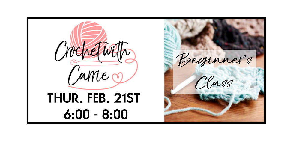 Crochet with Carrie ::: The Basics