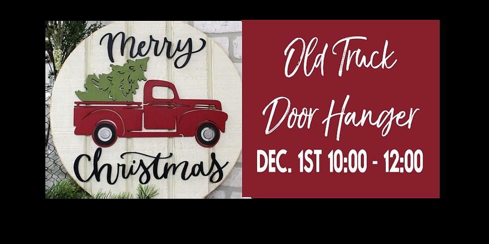 Old Truck Door Hanger $35