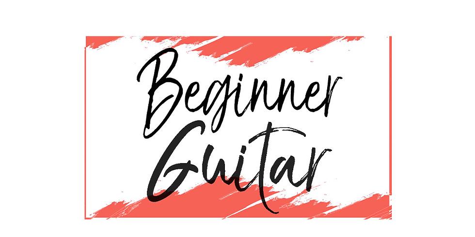 Beginner Guitar Camp $85