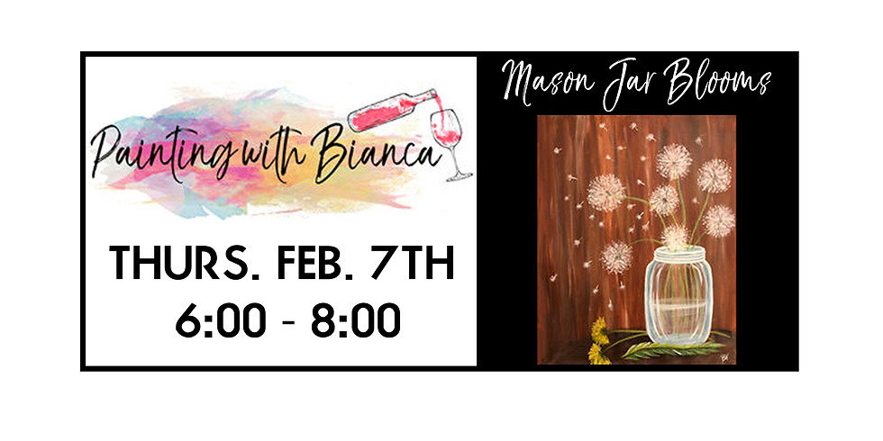 Painting with Bianca ::: Mason Jar
