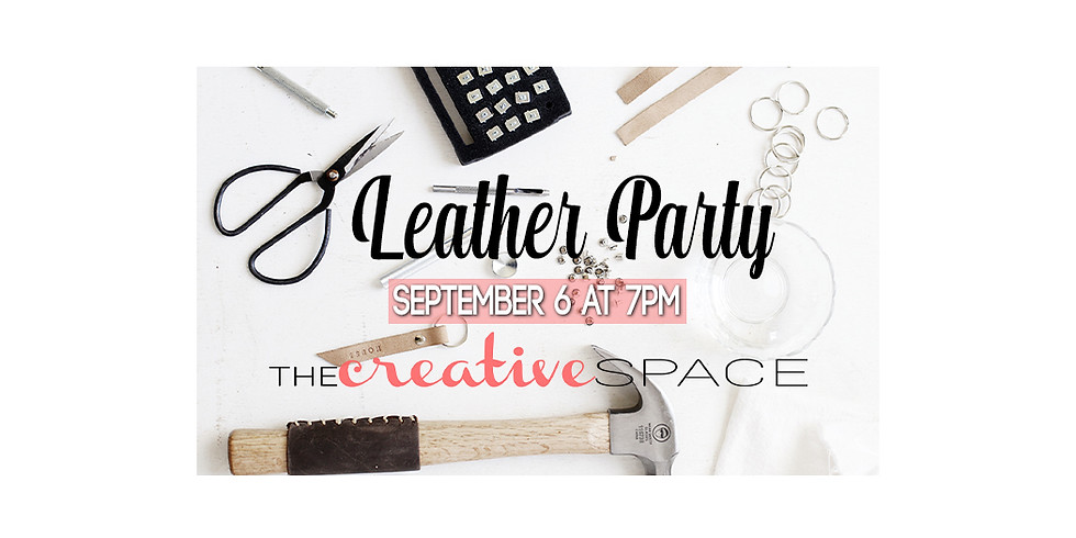 Leather Party $40