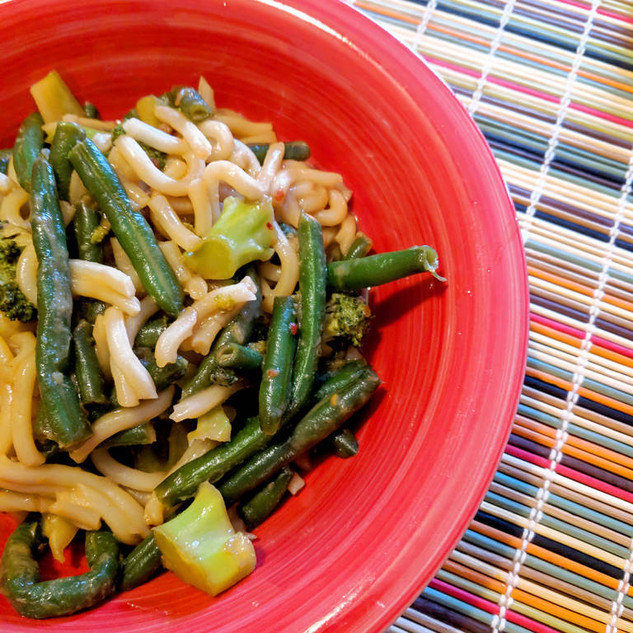 Ginger Sesame Noodles from Quick Fix Vegetarian by Robin Robertson